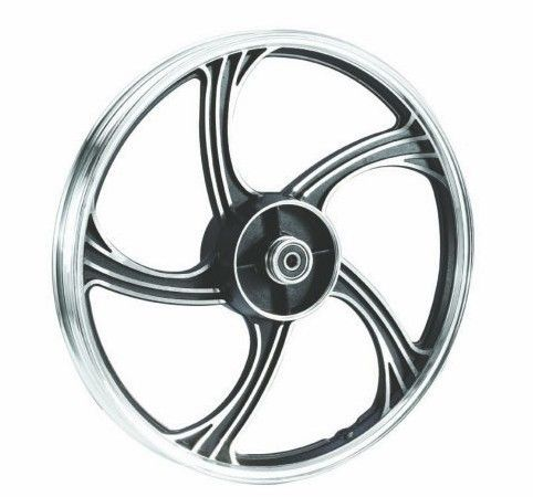 Alloy Motorcycle Wheel Parts A356 DIsc Type Customized Color / Size