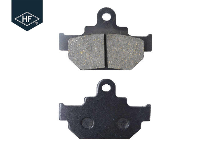 Organic Ceramic Motorcycle Brake Pads For Suzuki GZ125 Customized Color