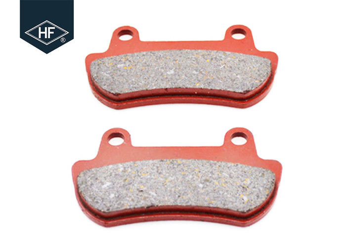Red Color Non Asbestos Brake Disc Honda Brake Pads 30000 - 50000km Lifespan