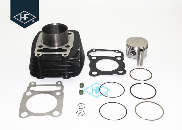 Bajaj Pulsar 180 Black Cylinder Block Kit Piston Ring Sets With Cylinder Gaskets
